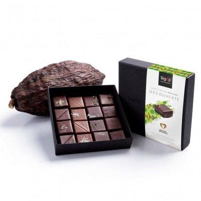 Coffret Découverte de 4 à 16 bonbons de chocolat