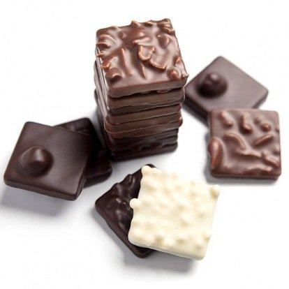 Nos pralines & chocolats pralinés
