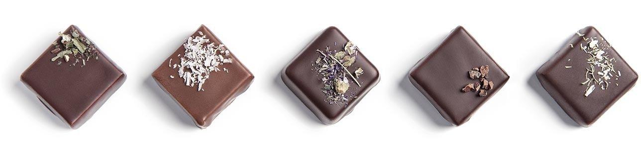 Créez votre assortiment personnalisé de chocolats ganaches