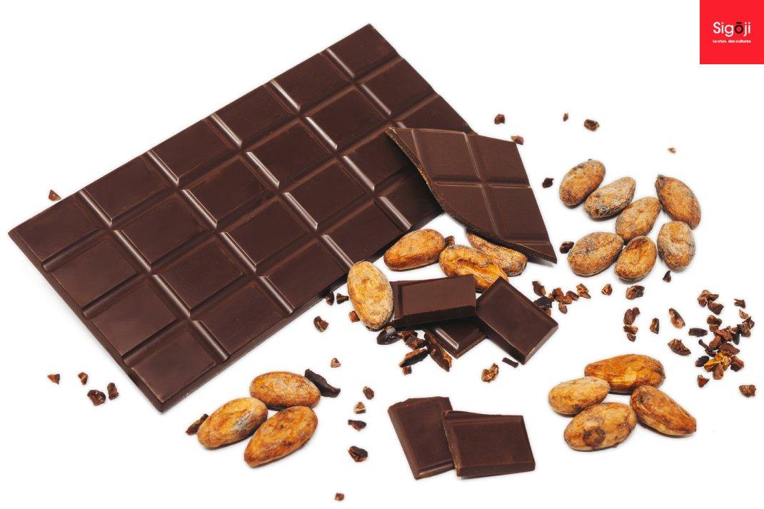 Les tablettes de chocolat de Sigoji